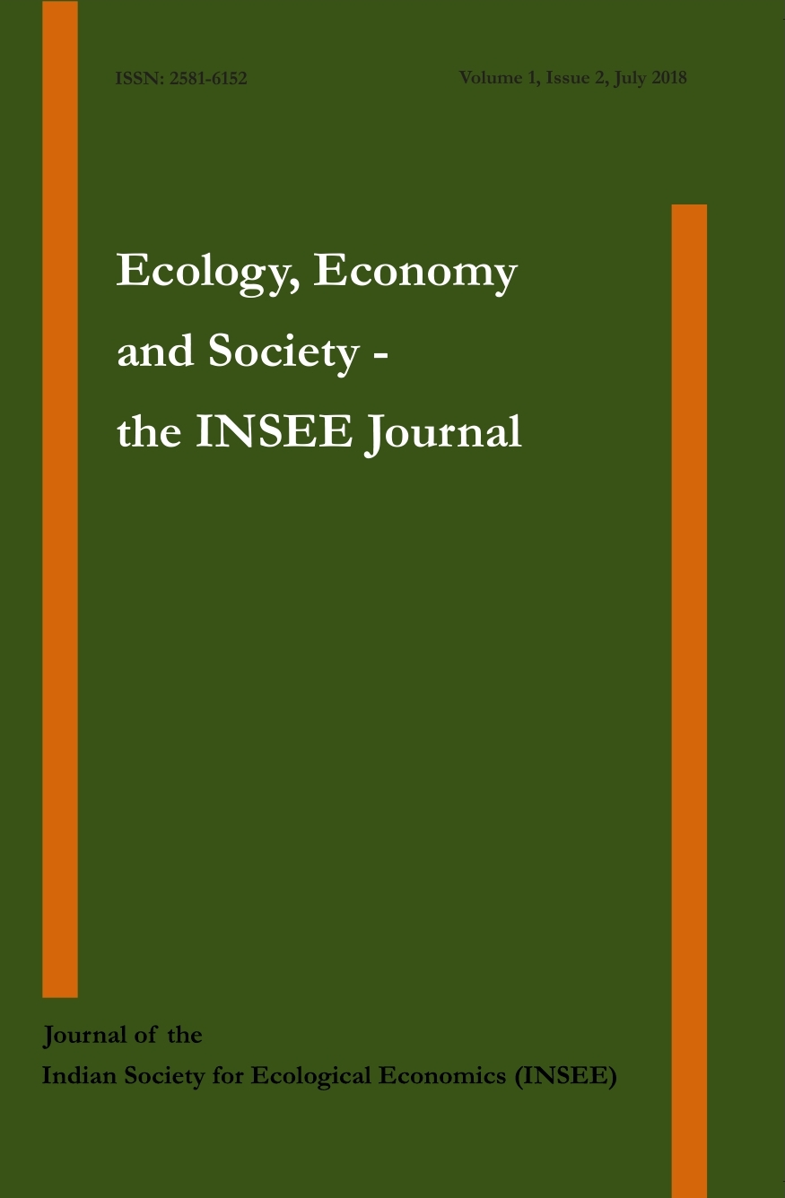 View Vol. 1 No. 2 (2018): Ecology, Economy and Society- the INSEE Journal