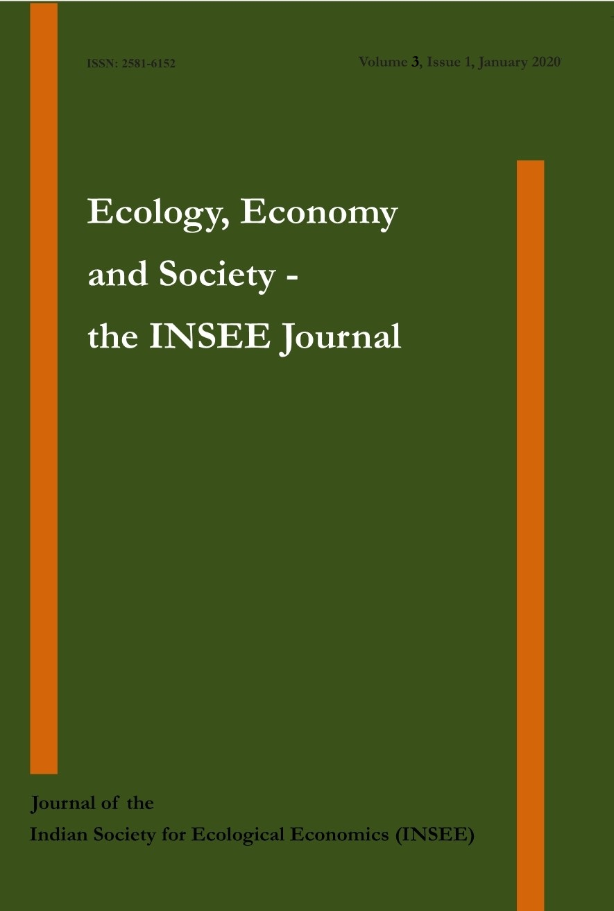 View Vol. 3 No. 1 (2020): Ecology, Economy and Society–the INSEE Journal